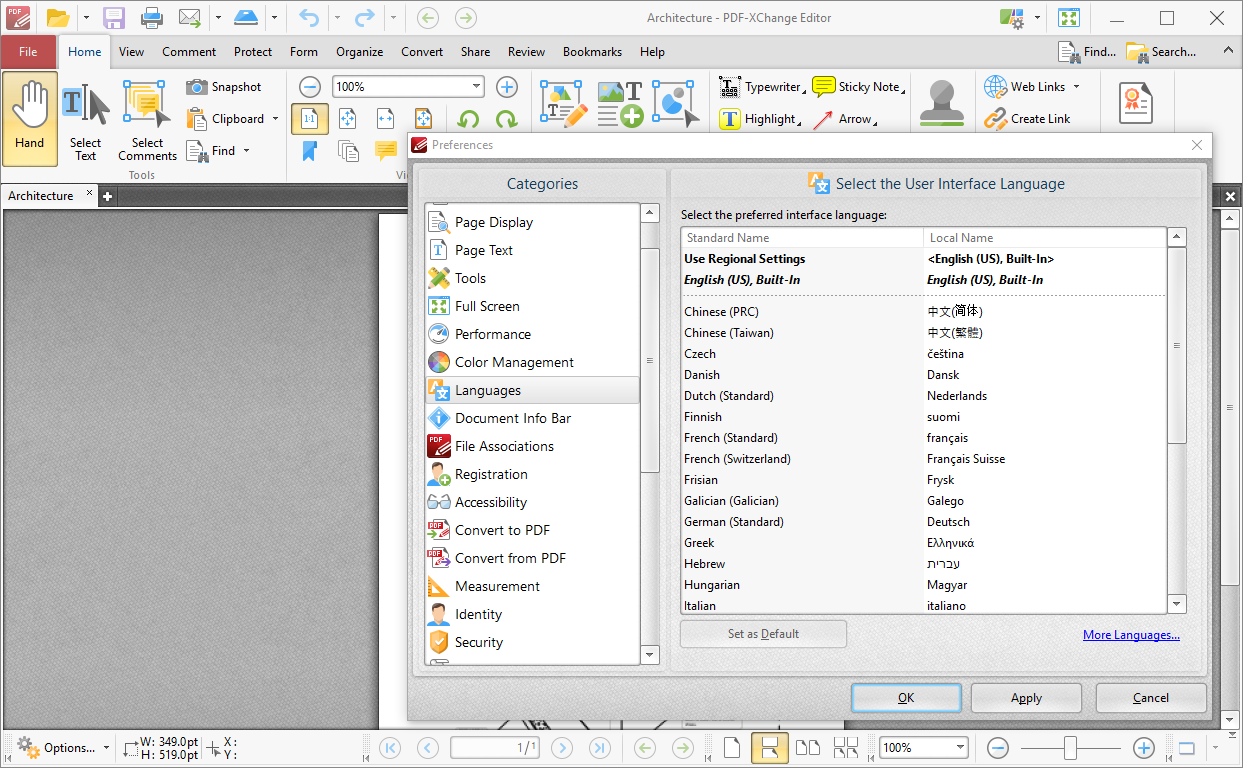PDF-XChange PRO 8.0.339.0 Pre-Activado [Multilenguaje] [UL.IO] 345-languages.shot